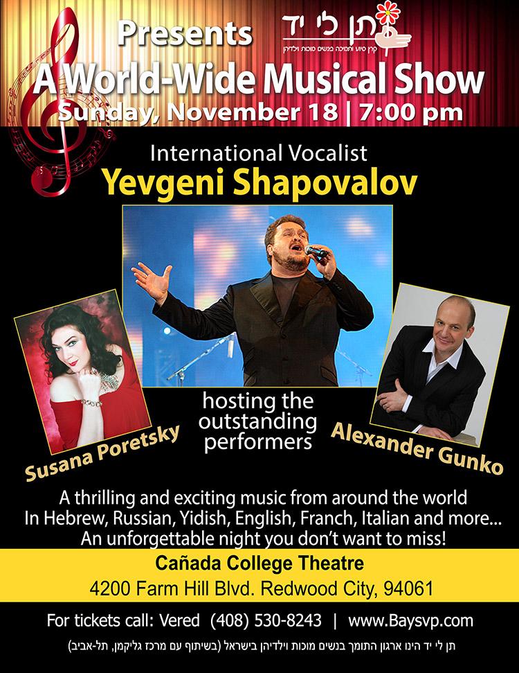 Yevgeny Shapovalov   – November 18th 2018